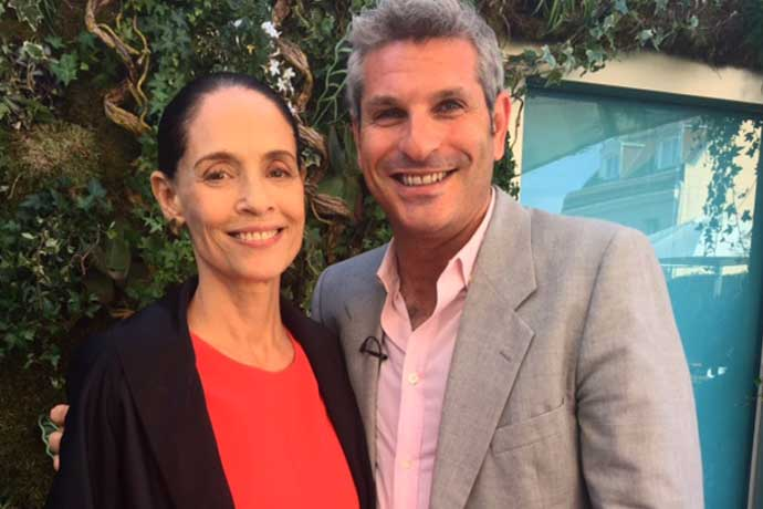 Watch Brazilian Bombshell Sonia Braga tell me about her gift