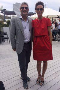Berenice Bejo and Jason Solomons