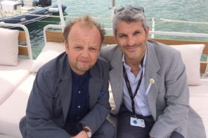 I talked to Toby Jones in Cannes about his new film Happy End