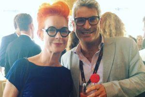 Sandy Powell and Jason Solomons