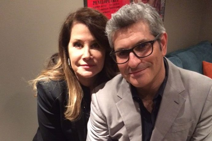 Lorraine Bracco, on stage with the GoodFellas star at BFI ...