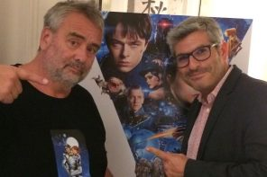 Luc Besson discusses Europe's biggest-ever movie, Valerian, and how he'll defeat a flop